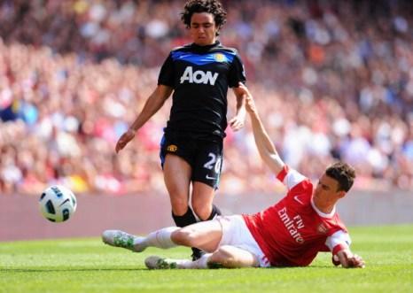Фоторепортаж. «Арсенал» победил «Манчестер Юнайтед» со счетом 1:0. Фото: Mike Hewitt/Getty Images