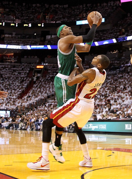 Фоторепортаж. НБА: Майами победил Бостон. Фото: Mike Ehrmann/Getty Images