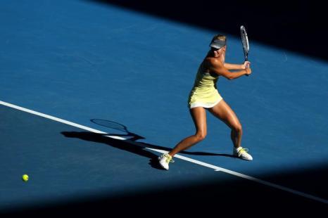Встреча Марии Шараповой и Екатерины Кузьминой в ј финала Australian Open, Мельбурн, Австралия.  Фото: Michael Dodge/Getty Images