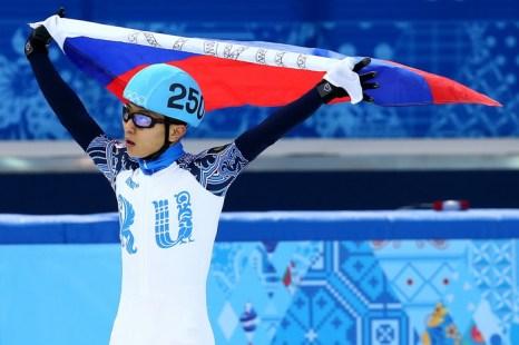 Виктор Ан. Олимпиада-2014, Сочи. Фото: Streeter Lecka/Getty Images