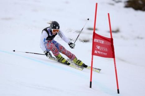Ксения Алопина показала 39 результат в слаломе-гиганте на Кубке зимних игр в Новой Зеландии 20 августа 2013 года. Фото: Hannah Johnston/Getty Images