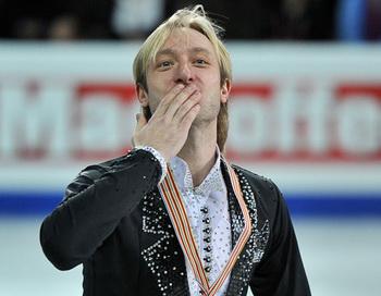 Российский фигурист Евгений Плющенко. Фото РИА Новости