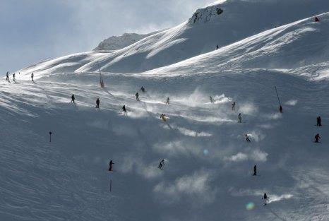 Ишгль - самый дорогой и модный горнолыжный курорт Австрии, позиционирует себя как   «австрийский Куршевель». Фото: Miguel Villagran/Getty Images
