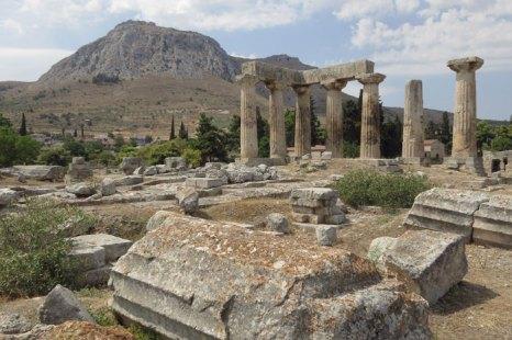 Коринф — одна из наиболее древних областей Греции. Фото: Sean Gallup/Getty Images