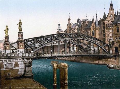 Мост Brooksbrucke, который открывал сам «железный канцлер» Бисмарк. Фото: Photoglob AG/commons.wikimedia.org