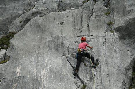 В Австрии – стране гор – увлечение скалолазанием, подобно катанию на горных лыжах. Фото: Sean Gallup/Getty Images