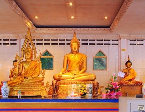 Статуя Будды из чистого золота в Храме Золотого Будды. Фото: tlchua99/flickr.com