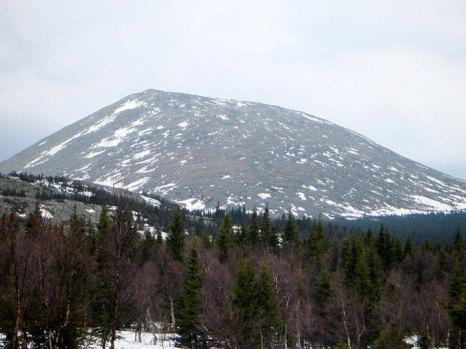 Гора Большой Иремель. Фото: Acodered/commons.wikimedia.org