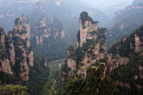 Чжанцзяцзе, Китай. Фото: Lintao Zhang/Getty Images