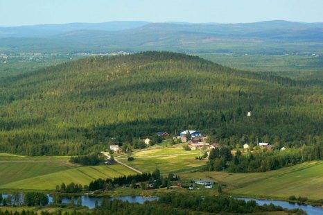Достопримечательность и памятник природы Финляндии - гора Аавасакса, расположенная вблизи Полярного круга. Фото: Rautasilta/flickr.com
