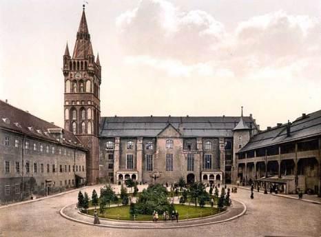 Замок Кёнигсберг, фото начала XX века. Фото: Сommons.wikimedia.org