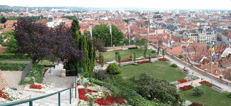 Вид с Замковой горы, Грац, Австрия. Фото: Andrew Bossi/commons.wikimedia.org