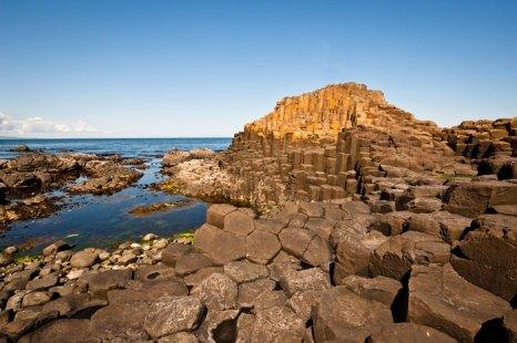 Тропа великанов в Северной Ирландии. Фото: LOCOG via/Getty Images