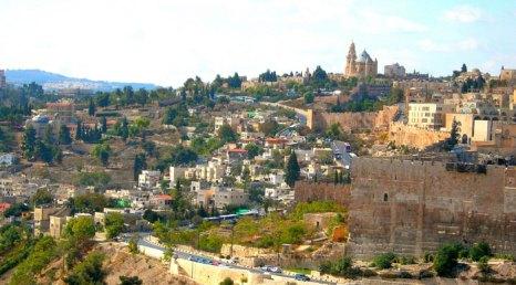 Вид на иерусалим, Израиль. Фото: kokorokoko/flickr.com