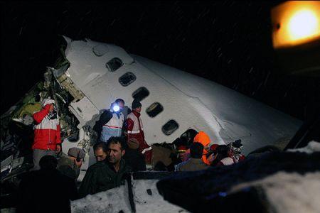 В Иране разбился пассажирский самолет: 70 человек погибло, 35 пострадали. Фото с сайта presstv.ir