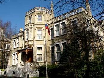 Здание посольства России в Лондоне. Фото с официального сайта