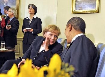 Барак Обама и Ангела Меркель. Фото: REGIERUNGonline /Kugler (Archivbild)