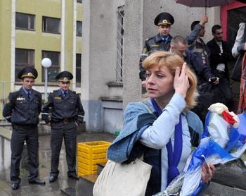 В Беларуси жену бывшего кандидата в президенты приговорили к 2 годам заключения. Фото: VIKTOR DRACHEV/AFP/Getty Images