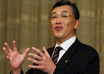 Toyota Prius 2010 года выпуска. Управляющий Toyota Хироюки Йокояма утверждает, что проблема с тормозами уже решена. Фото:  Junko Kimura/Getty Images