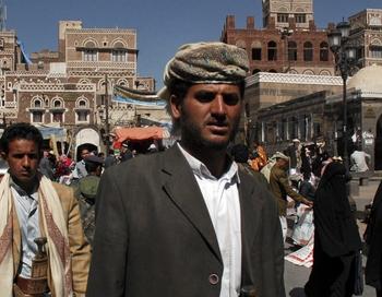 Йеменские власти должны принять меры к обеспечению стабильности в стране, в противном случае они рискуют потерять поддержку стране Запада. Фото: KHALED FAZAA/AFP/Getty Images