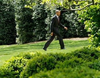 Президент Барак Обама сбежал от журналистов на футбольный матч дочери. Фото:  Alex Wong/Getty Images