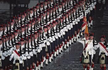 Каждый пятый британский пехотинец не пригоден для участия в боевых действиях. Фото:  ROMEO GACAD/AFP/Getty Images