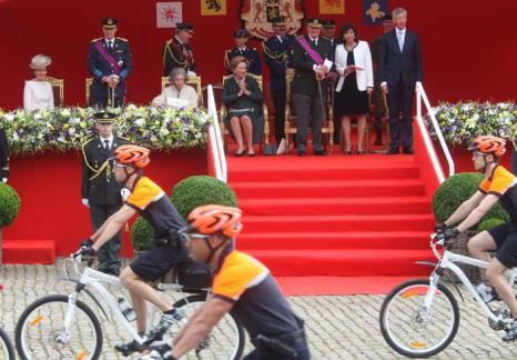 Королевская семья Бельгии отметила Национальный день страны. Фоторепортаж. Фото: Mark Renders/Getty Images