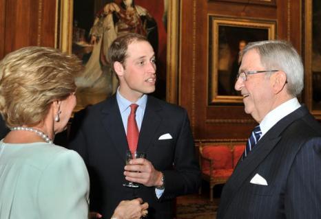 Принц Уильям на обеде суверенных монархов, приглашённых королевой Елизаветой II. Фоторепортаж. Фото: John Stillwell - WPA Pool/Getty Images