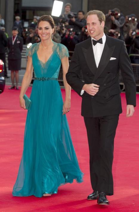 Екатерина, герцогиня Кембриджская, и принц Уильям посетили Олимпийский концерт. Фоторепортаж. Фото: Alastair Grant - WPA Pool/Getty Images