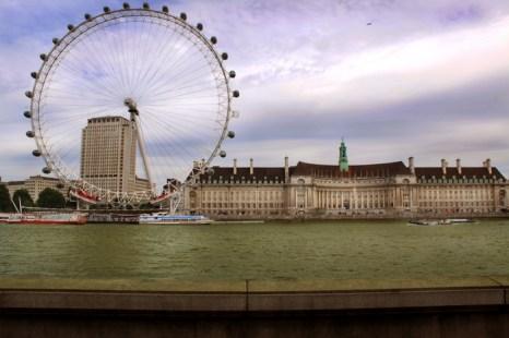 «Око Лондона». Фото: Ирина Рудская/Великая Эпоха (The Epoch Times)