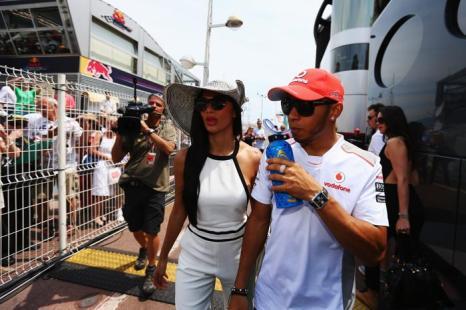 Знаменитости на Гран-при Монако. Николь Шерзингер (Nicole Scherzinger). Фоторепортаж. Фото: Clive Mason/Getty Images