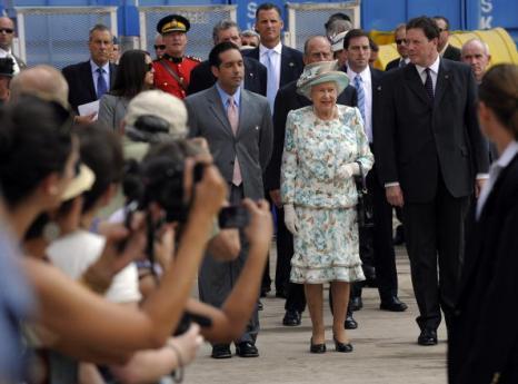 Елизавета II посетила Нью-Йорк. Фоторепортаж. Фото: John Stillwell-Pool/Getty Images