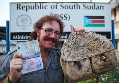 Кругосветное путешествие: британец Грехем Хьюз посетил все страны мира. Фото:  pikabu.ru