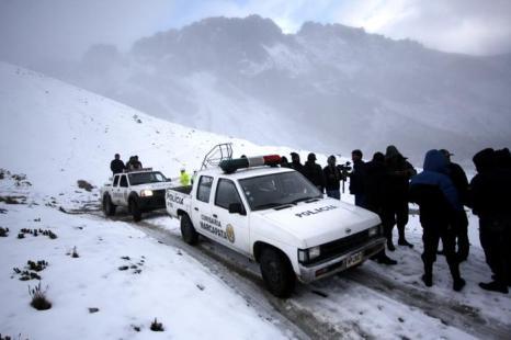 Полиция Перу обнаружила разбившийся вертолёт с туристами. Фоторепортаж. Фото: STR/AFP/GettyImages