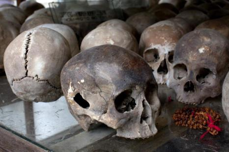 Красные кхмеры. Приговор суда: Кейн Гук Иеу проведет в тюрьме 19 лет. Фоторепортаж. Фото: Paula Bronstein/ Getty Images