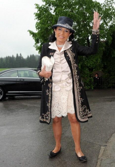 Гости  на свадьбе принцессы  Фелипы фон Бавария.  Regine Sixt. Фоторепортаж. Фото: Hannes Magerstaedt/Getty Images