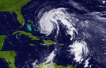 Ураган  в Атлантике
