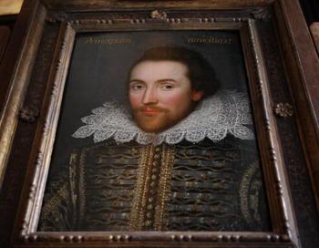 Портрет Шекспира в 3D был воссоздан с помощью современных  технологий. Фото: Oli SCARFF/Getty Images