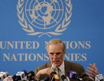 Специальный докладчик ООН по вопросу о внесудебных казнях Филип Олстон (Philip Alston). Фото: TONY KARUMBA/AFP/Getty Images