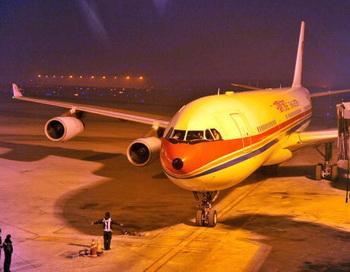 В аэропорту Пекина россияне проведут акцию протеста. Фото: STR/AFP/Getty Images