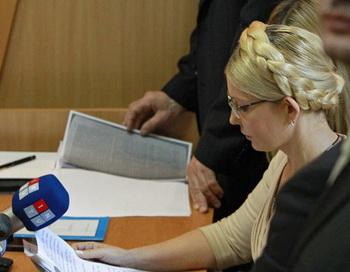 Оглашение приговора Юлии Тимошенко. Фото РИА Новости