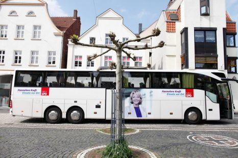 С января 2013 года по Германии можно будет передвигаться на автобусах. Фото: Ralph Orlowski/Getty Images