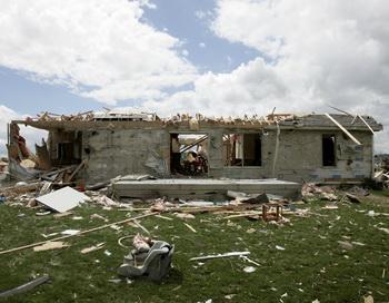 Последствия урагана в штате Огайо. Фото: J.D. Pooley/Getty Images