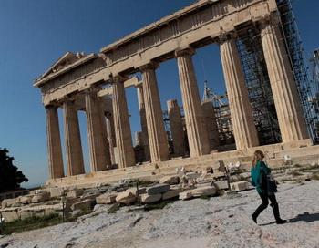 Экономический кризис Греции может распространиться на всю Европу. Фото: Chris Hondros/Getty Images