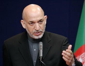 Президент Афганистана Хамид Карзай. Фото: THIERRY MONASSE/AFP/Getty Images