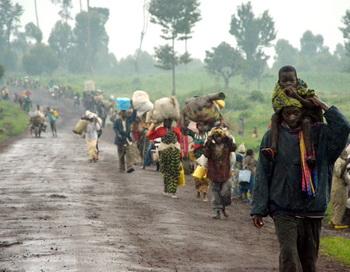Беженцы из Конго. Фото:AFP/Getty Images