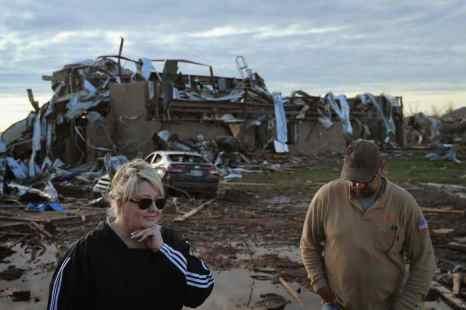 Власти Оклахома-Сити уточнили количество жертв торнадо. Фото: Scott Olson/Getty Images
