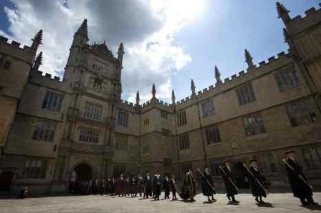 Оксфордский университет учредил стипендию имени Тэтчер. Фото: BEN STANSALL/AFP/GettyImages