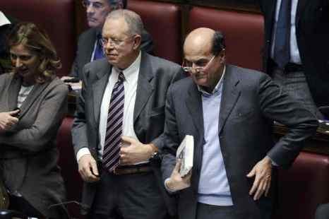 Италия: В альянсе Берсани появилось мнение о союзе с Берлускони. Фото: FILIPPO MONTEFORTE/AFP/Getty Images