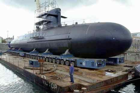 Индия получит первую неатомную подводную лодку «Скарпен» в 2014 году. Фото: MYCHELE DANIAU/AFP/Getty Images
